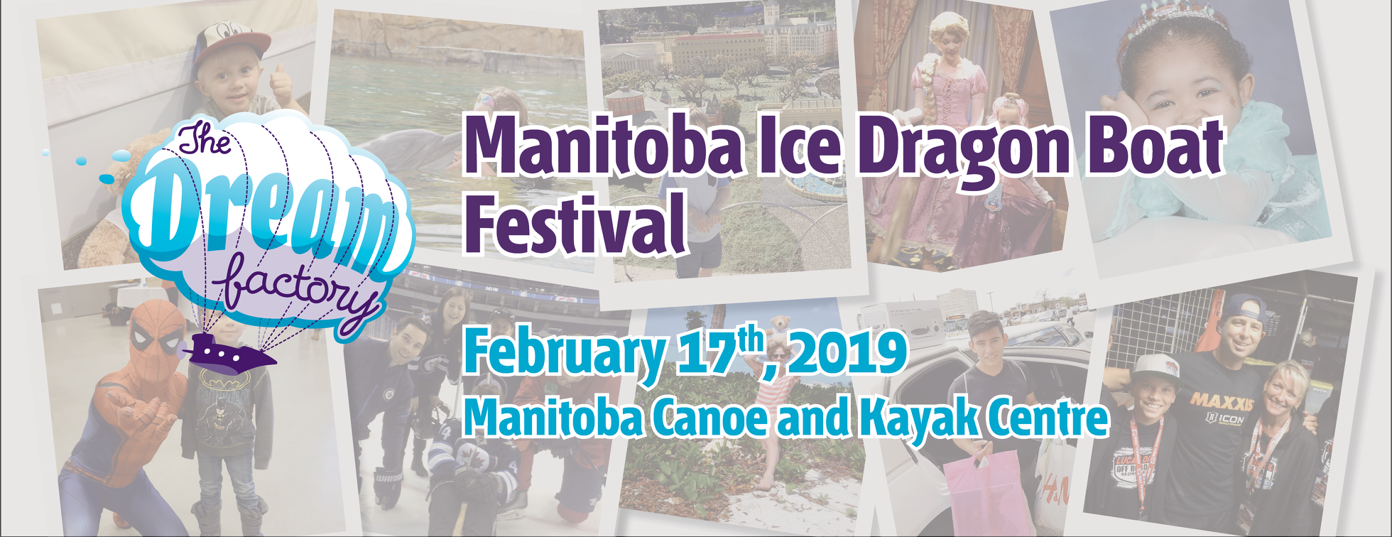 The Dream Factory Manitoba Ice Dragon Boat Festival
